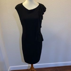 Suzi Chin for Maggy Boutique Black Dress Size 10